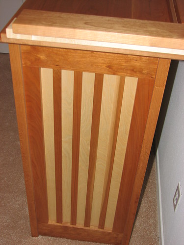 Side View of Dresser