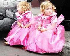 the other view... (joyrex) Tags: pink 15fav colors twins explore eurodisney sleepingbeauty doornroosje