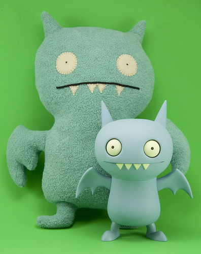 Ugly Dolls - Vinyl and Plush Ice-Bat by JasonCross.