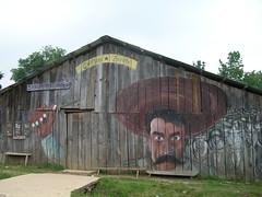 Zapata Barn (I'm A Raindog, Too) Tags: barn mexico mural zapatista zapata chiapas oventic ezln
