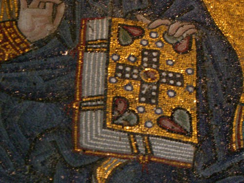 Detail of mosaic in Aya Sofya