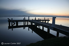 Squid's Ink Jetty (*Out of my Mind*) Tags: sunset jetty dus squidsink
