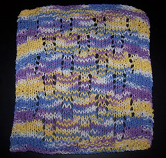 May Mid Month Dishcloth