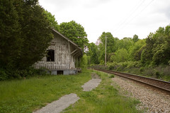 Sparta Train Station (David Pfeffer) Tags: old usa abandoned nj historic trainstation sparta collapsing spartastation