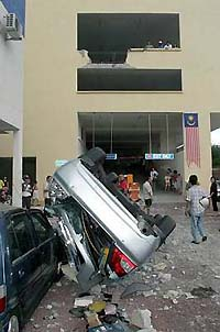 Jelutong car crash