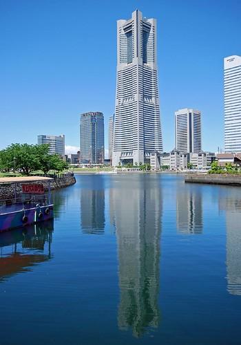 横浜ランドマークタワー │ 場所 │ 無料写真素材