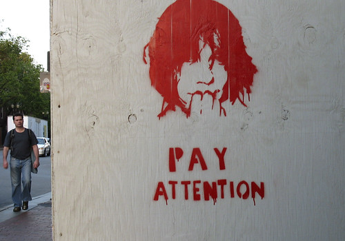 Pay Attention by AntyDiluvian.