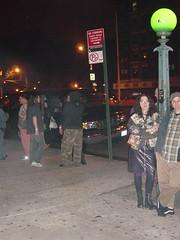 outside the Bowery Ballroom after PTV3 show (J. Dwight Thompson) Tags: nyc newyorkcity path nj newport wtc boweryballroom psychictv pavonia thebigapple ptv3