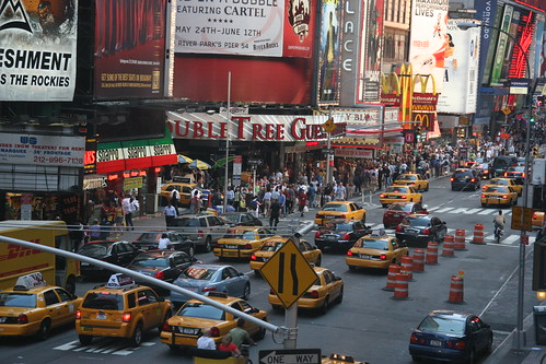 New York and the yellow cabs