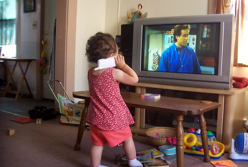 baby talking to jerry
