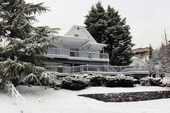 Snow Views from Riverwatch Estates (mariewise) Tags: snow snowstorm kalama washington winter house houseinsnow riverwatch taylorroad