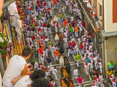 Running with the bulls, 2016!
