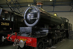 "GWR 4003 ""Lode Star"" (Andrew Edkins) Tags: 4003 lodestar greatwestern geotagged nationalrailwaymuseum nationalcollection gwr indoor museum railwayphotography light york yorkshire england uksteam december 2016 saturday canon steamtrain heritage vintage turntable"