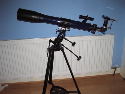 Bresser skylux refractor telescope