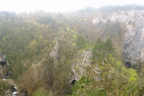 Massive sink hole, Škocjanske Caves, Slovenia
