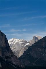 Light & Shadow in Yosemite (Cliff Stone) Tags: california mountains nature canon landscape yosemite halfdome yosemitenationalpark nationalparks usnationalparks wideopenspaces canon350drebelxt beautyofnature sierranevadamtns