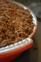 Rhubarb-Apple Crisp