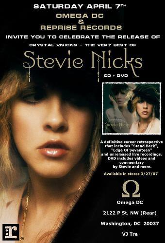 Stevie Nicks Flyer