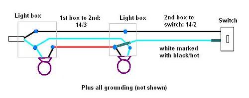 Wire 2 Lights To 1 Switch Diagram - Merzie.net
