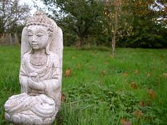 Vajrasana garden buddha 1