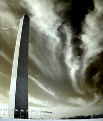 mournument (zachstern) Tags: wallpaper sky autostitch clouds landscape ir washingtondc contrail flags infrared dcist washingtonmonument outstanding infravermelho r72 infrarot  holyhell infrarrojos   supershot infrapuna infrarood infrarouge infrarossi abigfave specobject  anawesomeshot f717ir  reversecontrail inframerah   infravrs infraerven