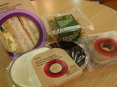 Takeout Lunch From Marks & Spencer