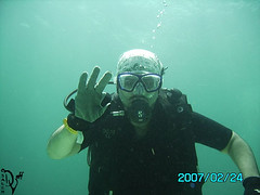 ok (divingoff) Tags: man thailand island underwater scuba diving diver raya 2007 saleh alellwi