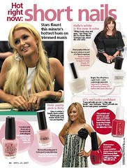Paris Hilton Short Nails