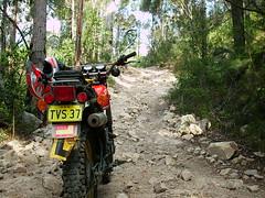 IMG_0004 (Fishy Mann) Tags: road 1982 hole hill rocky perch yamaha xt250