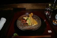 Ternera de Kobe y bambú de primavera a la brasa