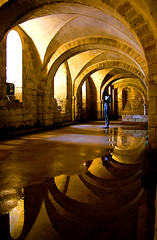 Alone in the Crypt (jo92photos) Tags: monument water statue reflections solitude alone cathedral flood lonely vault winchester crypt floods antonygormley fiatlux supershot ©allrightsreserved gsii reallyunlimited soundii platinumphoto superaplus aplusphoto myfuji superbmasterpiece diamondclassphotographer flickrdiamond flickrphotoaward bbcbritaininpictures jo92 challengegamewinner bachspicsgallerybyinvitation jo92photos superstarthebest