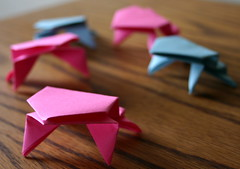 Origamifrogs