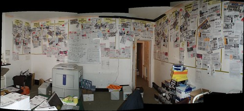 Panorama of the print room