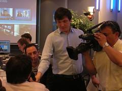 Premier Tour : Soire Electorale Blogueurs chez France 24 (france24presidentielle) Tags: france 24 elections presidentielle prsidentielle france24