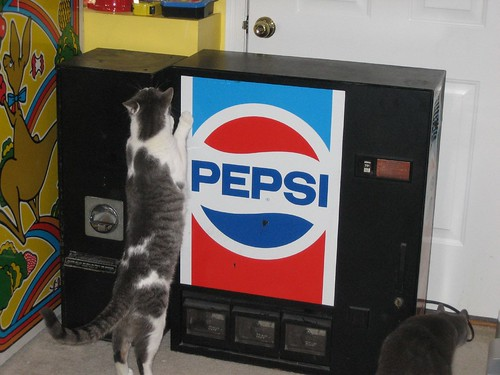 New (to me) Change and Pepsi Machines
