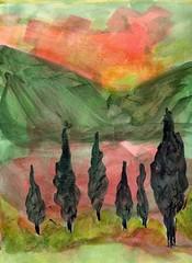 Riot (Amudha Irudayam) Tags: watercolor painting northwest amudha
