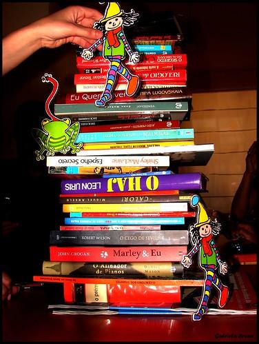 Os livros que vieram