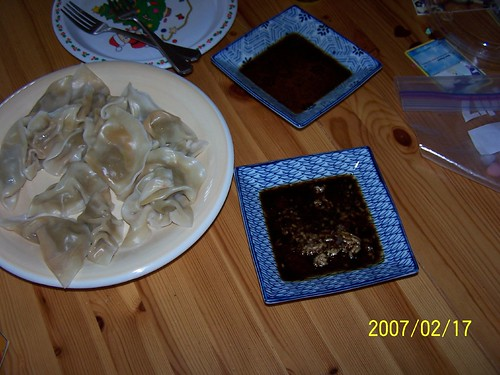 2007 Chinese New Year dumplings