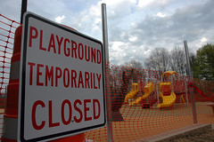 Playground Temporarily Closed :-(