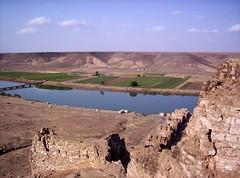 Halabiye Remnants On Euphrates