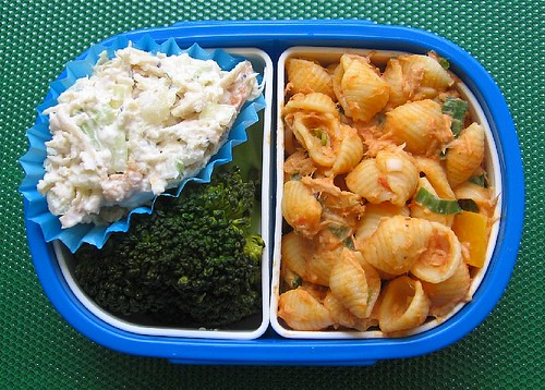 Pasta lunch and sanbaizu recipe
