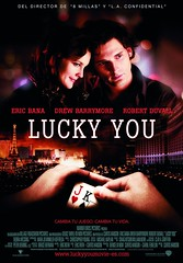 Póster y trailer en castellano de 'Lucky You'