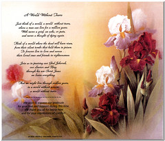 A World Without Tears (MacSmiley) Tags: grandma love loss friend sister lorraine obituary 2007 jesuschrist inlovingmemory canonphotostitch epsonperfection2450photoscanner recentlydeceased 4122007 resurrectionhope myspiritualgrandmother memorialpamphlet aworldwithouttears ©stapcobassmollett jehovahgod