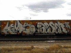 Kems Gesr Canon 04-07 (Seetwist) Tags: railroad art train bench graffiti colorado paint grafitti trains denver 3a spraypaint boxcar graffito graff piece aerosol railfan freight trainspotting freights trainart wholecar fr8 rxr railart e2e benching kems trainspot toptobottom boxcarart geser denvertrainart seetwist seetwistproductions