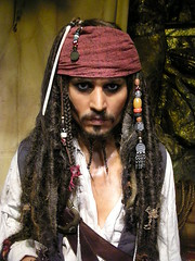 Jack Sparrow, wax museum, las vegas - by ·S