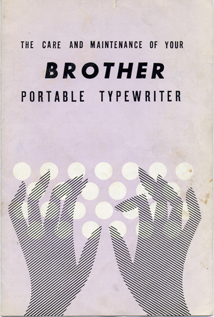 Brother typewriter blog
