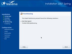 Mandriva Installation Screenshot 5