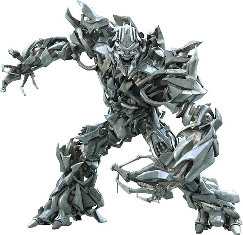 Transformers la pelicula Megatron