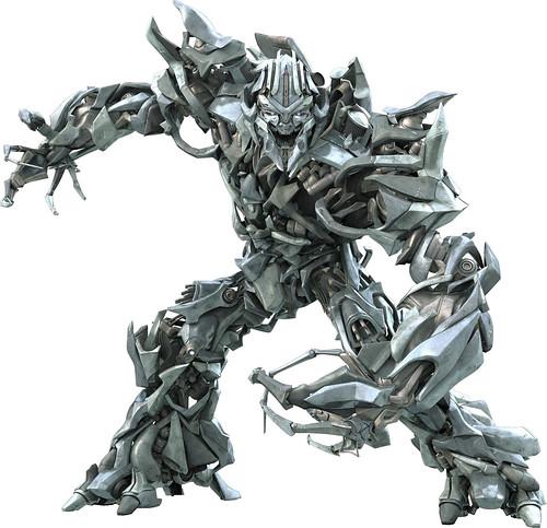 Megatron head en  Transformers la pelicula