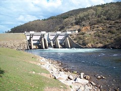 The gates (hollis_corey) Tags: water fishing nsw trout pondage khancoban swampyplainsriver